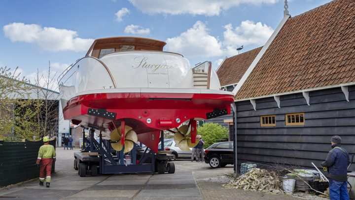 Vitters Shipyard delivers the superyacht chase boat Stargazer in summer 2019