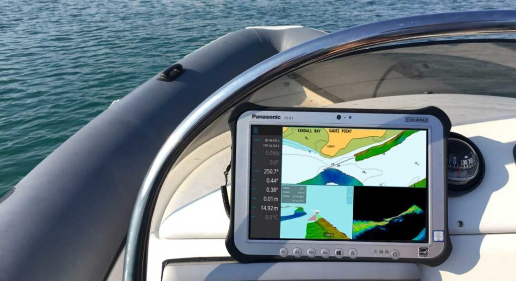 the WASSP W3 lets megayacht crew create their own bathymetric maps of remote locations