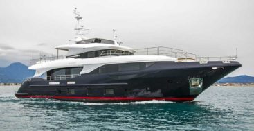 Aslan is the seventh Benetti Delfino 95 megayacht