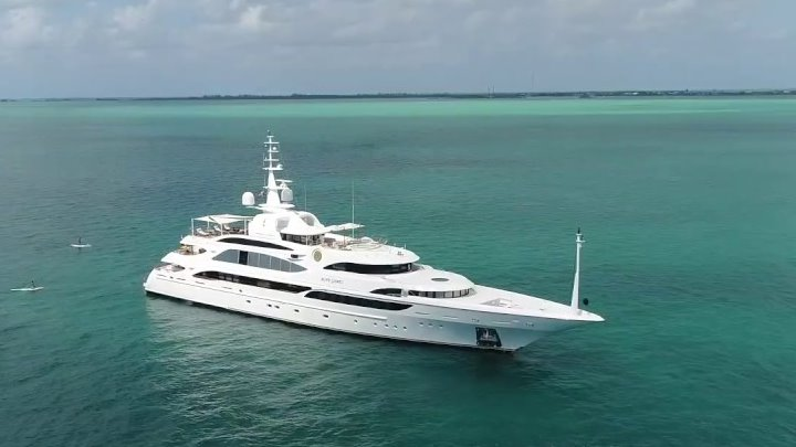 Chris Cline owned the megayacht Mine Games until the fall of 2018