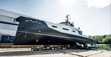 Joy Rider joins the Damen Yacht Support range for superyacht customers