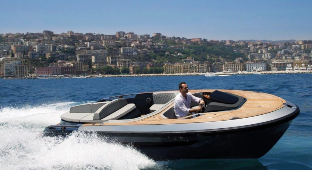 the Evo T2 megayacht tender is now a series