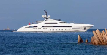 the Galactica Star auction concluded with the megayacht successfully selling