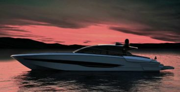 the ISA Super Sportivo GTO 100 megayacht should hit 50 knots