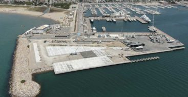 Pendennis Vilanova is a superyacht refit facility at Vilanova Grand Marina