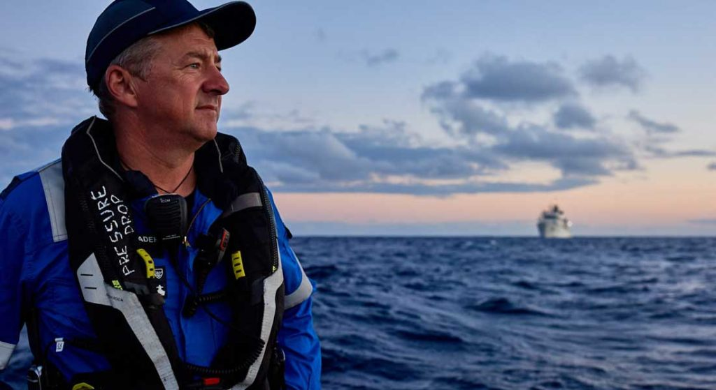 Rob McCallum co-founded EYOS Expeditions to assist superyachts in adventurous travels worldwide