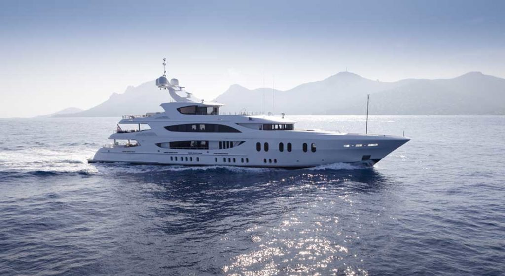 Liberty is among the patriotic-themed megayachts