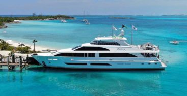 the 120 Hargrave megayacht Catera is a Galati Signature Edition model