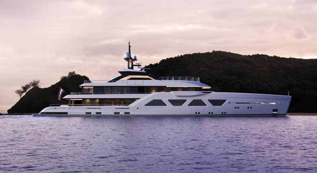the Amels 60 is a Limited Editions megayacht