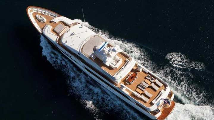the megayacht BG Charade is Valor on TV's Below Deck