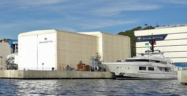 Baglietto megayacht shipyard