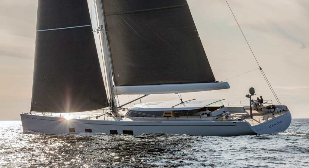 Canova is a performance sailing superyacht from Baltic Yachts