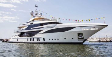 Bacchanal is the second Benetti megayacht for her owner