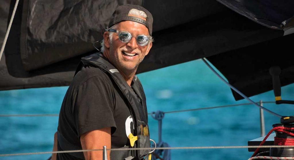 the Vela Code mission raises awareness of plastic pollution and the purity of sailing especially among the superyacht community