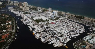 fun facts about FLIBS, the world's largest in water boat show, which can accommodate 400-foot megayachts