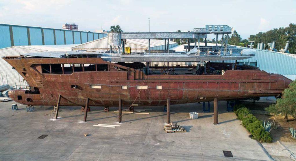 Tony Parker's superyacht is a Kando 110 from AvA Yachts