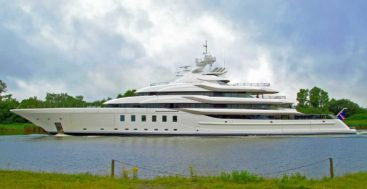 Lurssen Madsummer is among megayachts to visit at the Monaco Yacht Show