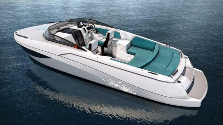 Nerea Yacht's NY24 GT version of its megayacht tender