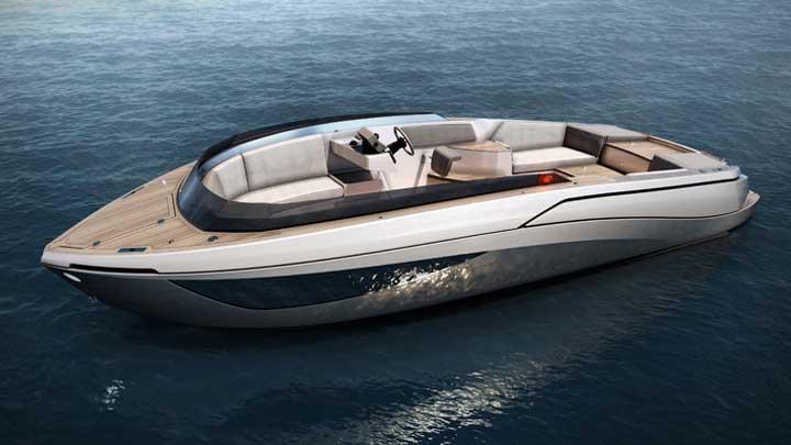 Nerea Yacht's NY24 Limo version of its megayacht tender