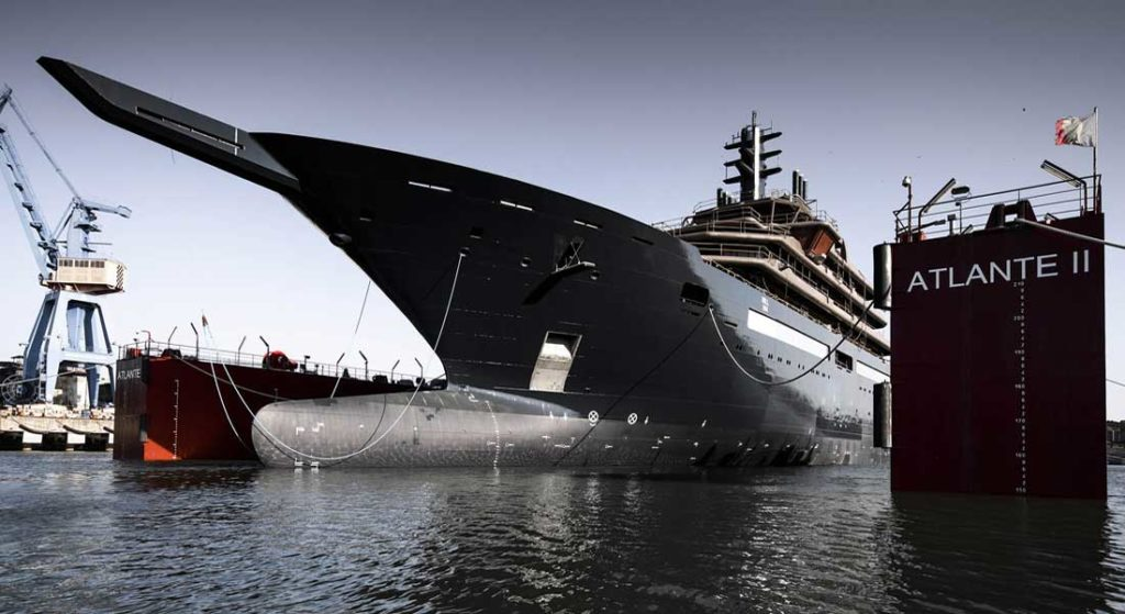 REV Ocean research vessel with superyacht spaces launched in Romania