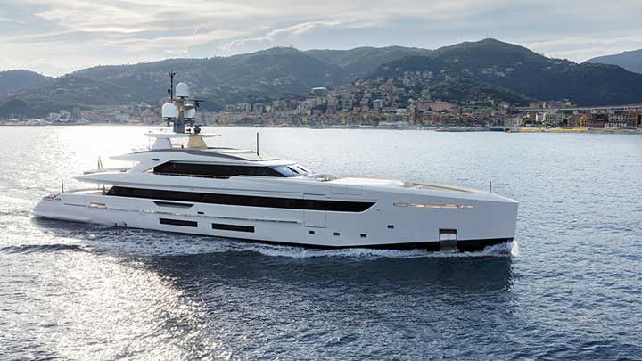 Tankoa Yachts built Bintador, one of the megayachts to visit at the Monaco Yacht Show