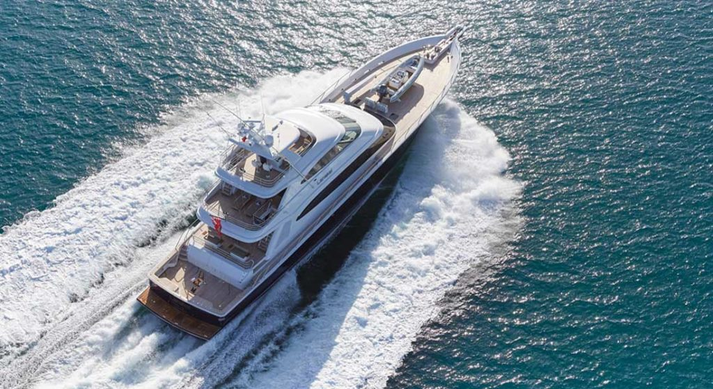 Lanakai is more than a superyacht, she's a sportfishing machine as well