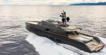 the 165 Wallypower megayacht is new to the market
