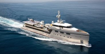 the 17th Damen Yacht Support vessel uses the YS 7512 platform as a basis and could be a megayacht in its own right