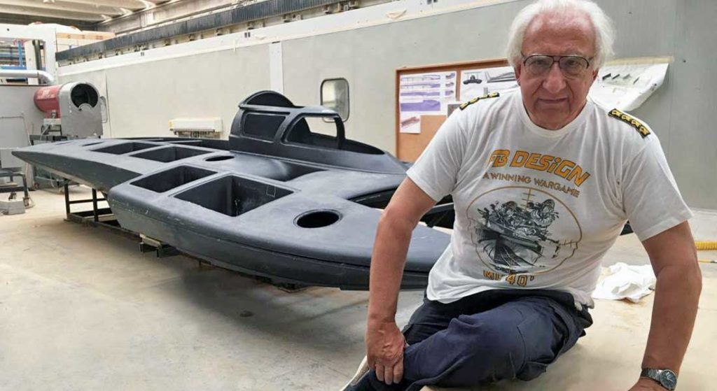 Fabio Buzzi collaborated with yacht and superyacht builders and influenced countless more