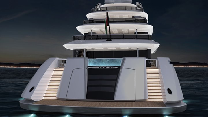 the ISA Continental 80 will be the yard's biggest superyacht