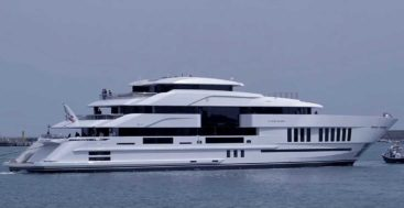 Lifes Saga is a 65-meter megayacht from The Italian Sea Group