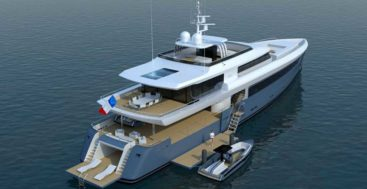 the Ocea Nautilus 45 superyacht is for adventurous owners