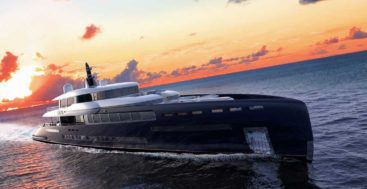 Sangi is a smart superyacht concept from Royal Huisman