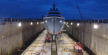Savannah Yacht Center is a superyacht refit yard