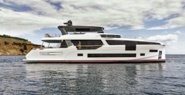 the Sirena 88 is Sirena Yachts' first megayacht