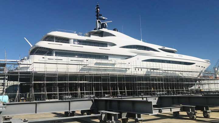 Turquoise Yachts Honor at Savannah Yacht Center superyacht refit yard