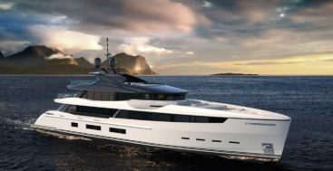 the Wider 180 is the first new superyacht from the new owners of the yard