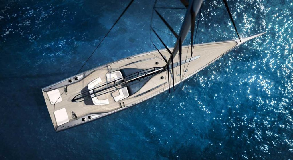 the sailing superyacht Wally 101 is for racers and cruisers