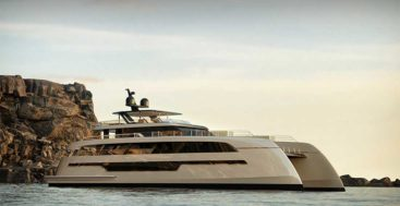 the 110 Sunreef Power megayacht is set for delivery in 2021