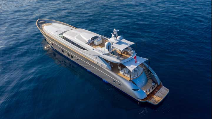 THE REFIT OF A2 SAW A SUPERYACHT TRANSFORMATION