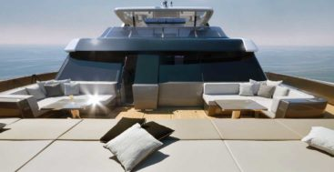 Aria is the first 80 Sunreef Power megayacht catamaran