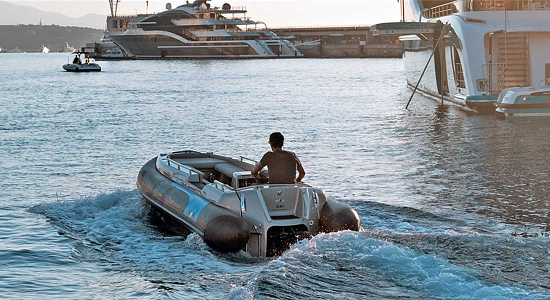 Avon eJET 450 Electric Yacht Tender, Made for Megayachts