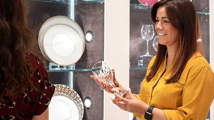 Glancy Fawcett is a superyacht tableware and accessories company