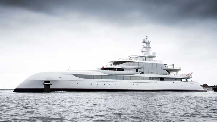 Excellence is among the megayachts Making the 60th Anniversary of FLIBS