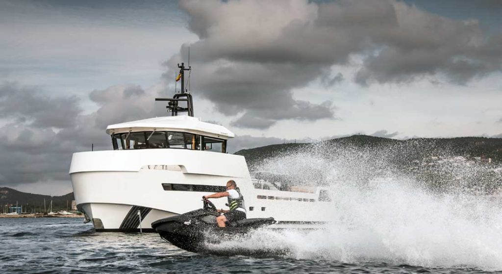 the Lynx Yachts megayacht YXT 24 Extending the Possibilities for Next Generation of Explorers