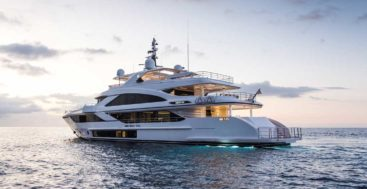 the Majesty 140 megayacht debuts at FLIBS 2019