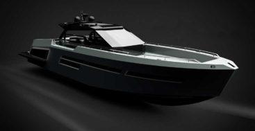 the Mazu 82 megayacht