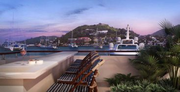 Navy Beach St. Maarten will offer views of megayachts in the harbor