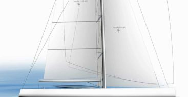 Philippe Briand designed the Perfect 60 sailing superyacht for sailing purists