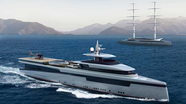 Lotus is a two-superyacht package from Royal Huisman